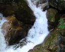 Водопад среди камней
