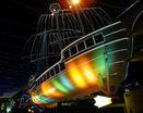Светящийся корабль