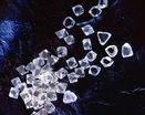 Алмазы на черном бархате
