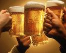 Пиво в стаканах