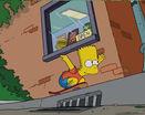 Барт симпсон на скейте