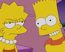 Барт и лиза симпсоны