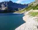 Пологий берег озера